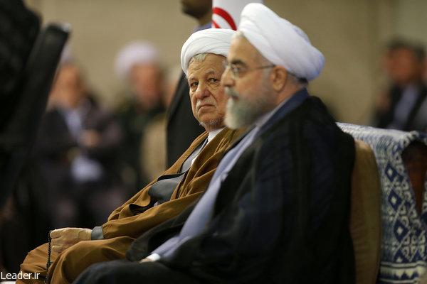 پاسخ بسیجیان و پاسداران سپاه به توهینهای امروز حسن روحانی «سلام» است