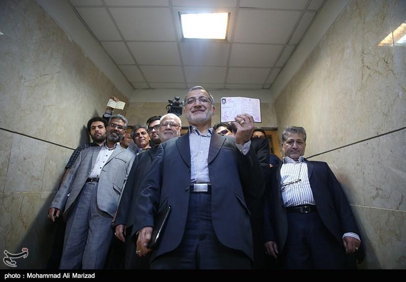«زاکانی» در انتخابات ریاستجمهوری ۹۶ ثبتنام کرد + تصاویر