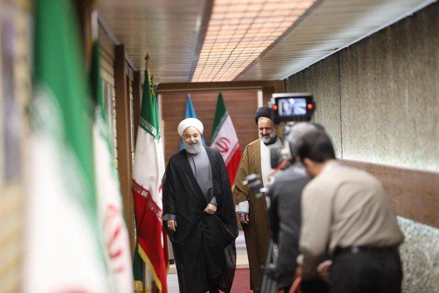 خبرگزاری فرانسه: روحانی تحت انتقادات یک رقیب اصلی قرار گرفت