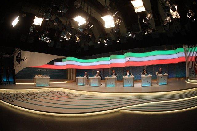 گزارش تصویری اولین مناظره انتخابات ریاست جمهوری سال ۹۶