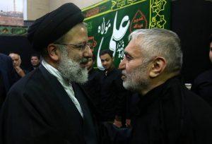 حاج منصور ارضی مداح مشهور از سید ابراهیم #رئیسی در انتخابات ۹۶ حمایت کرد.