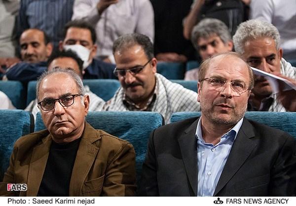 عکس جالب قالیباف و پرویز پرستویی بازیگر محبوب سینمای ایران در کنار هم!