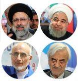 جزئیات آرای ۴ نامزد انتخابات ریاست جمهوری ۹۶ در تهران