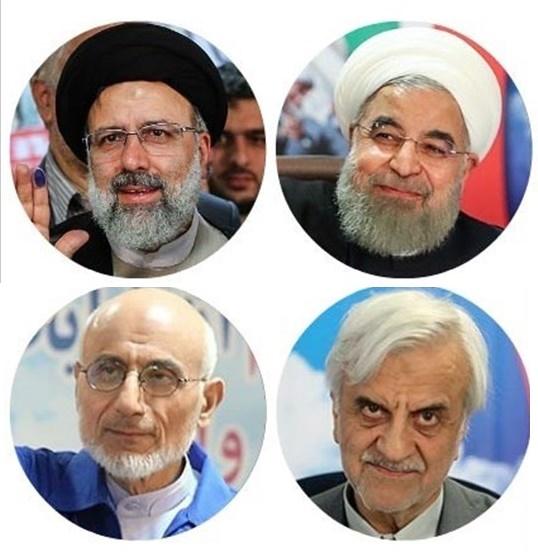 آخرین نتایج شمارش آرای دوازدهمین دوره انتخابات ریاست جمهوری ۹۶ (درحال به روز رسانی)