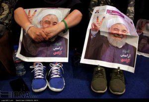 کاهش شدید آرای حسن روحانی پس از برگزاری #مناظره_سوم