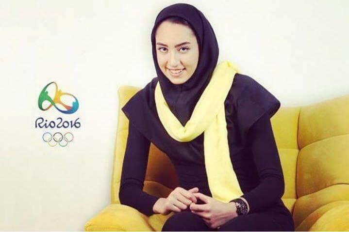 اعلام حمایت کیمیا علیزاده تکواندکار تیم ملی از حسن روحانی در انتخابات ریاست جمهوری ۹۶