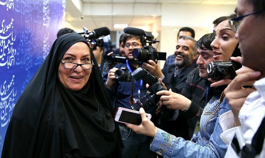 نخستین زن ثبت نامی کاندیدای انتخابات ریاست جمهوری ۹۶ + عکس