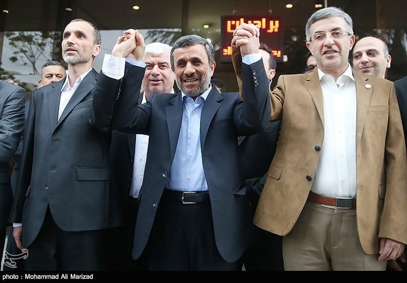 احمدینژاد و بقایی داوطلب انتخابات ریاستجمهوری شدند + تصاویر