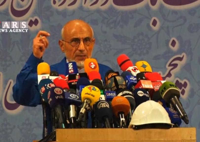 فیلم کامل ثبت نام مصطفی میرسلیم در انتخابات ریاست جمهوری ۹۶