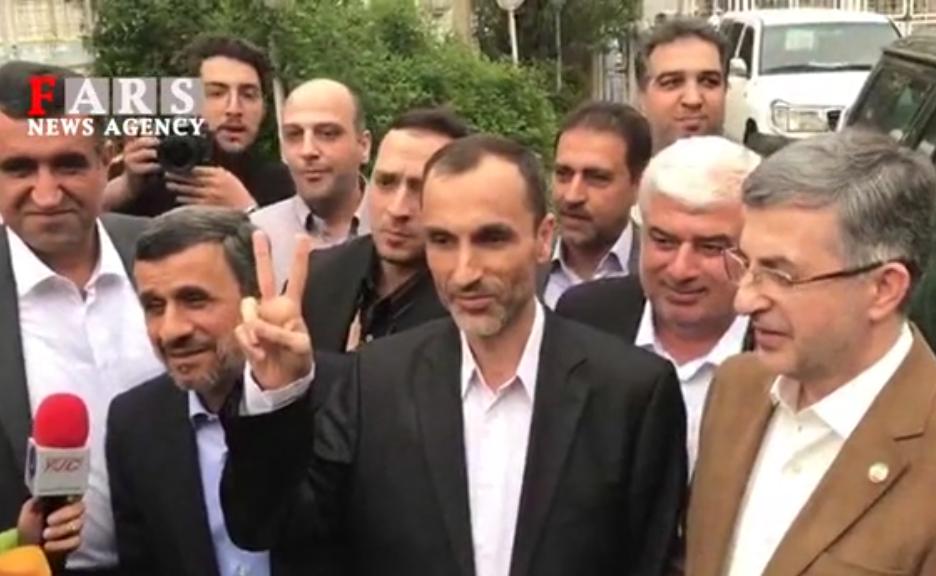 فیلم/ احمدینژاد رسما نامزد انتخابات ریاست جمهوری شد