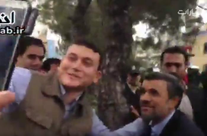 فیلم واکنش مردم پس از کاندیداتوری دکتر احمدی نژاد در انتخابات ریاست جمهوری ۹۶