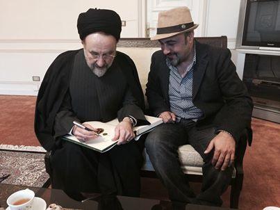 رضا #عطاران بازیگر طنزپرداز از حسن #روحانی در انتخابات ۹۶ حمایت کرد.