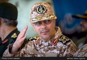 سرلشکر باقری رئیس ستاد کل نیروهای مسلح گفت: مسئولان و نامزدها توان موشکی را به موضوع کوچکی مثل برجام ربط ندهند