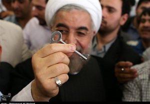 کاربران شبکههای اجتماعی کپی #روحانی از کلید کنیاییها و کلیپ #اوباما را یادآوری کردند