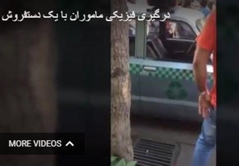 سوتی و گافی که تخریبگران #قالیباف در حمله به دستفروشان به جا گذاشتند + عکس