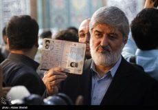تصاویر لحظه شرکت علی مطهری نایب رئیس مجلس در انتخابات ریاست جمهوری و شورای شهر تهران