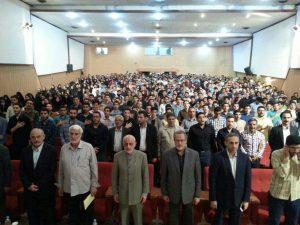 تلاش هواداران حسن روحانی برای بر هم زدن سخنرانی میرسلیم + جزئیات